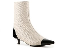 Bally Tremona Leather Cap Toe Bootie
