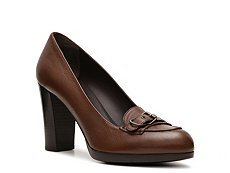 Bally Mallika Leather Buckle Pump