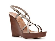Bally Manako Leather Wedge Sandal