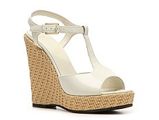 Bally Palomita Patent Leather Wedge Sandal