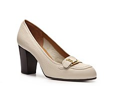 Bally Finley Leather Buckle Pump