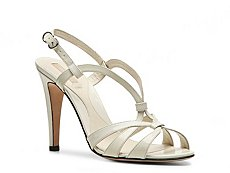 Bally Coralline Patent Leather Slingback Sandal