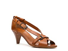 Bally Oswalda Leather Peep Toe Sandal