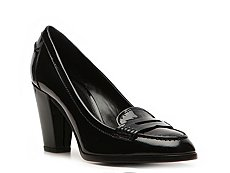 Ralph Lauren Collection Celyn Patent Leather Pump
