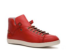 Sergio Rossi Leather Mid Sneaker