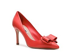 Miu Miu Leather Bow Pump