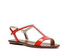 Prada Patent Leather Flat Sandal