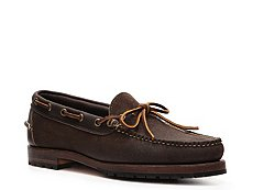Ralph Lauren Collection Kyse Suede Boat Shoe