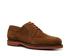 Ralph Lauren Collection Hoover Suede Wingtip Oxford