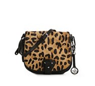 Audrey Brooke Leopard Cross Body Bag