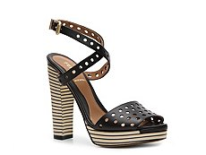 Fendi Leather Platform Sandal