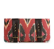 Be by Bryna Herman Western Canvas Clutch