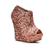 Bamboo Driven-82 Wedge Bootie