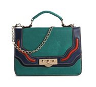 Melie Bianco Color Block Cross Body Bag