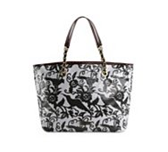 Betsey Johnson Mixed Up Bird Tote