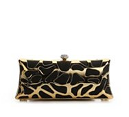 Lulu Townsend Cut Out Metal Box Clutch