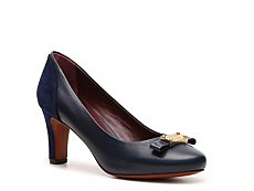 Marc by Marc Jacobs Leather Bow Pump