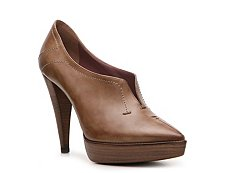 Santoni Leather Platform Pump
