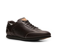 Santoni Leather Sneaker