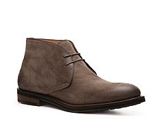 Santoni Distressed Suede Chukka Boot