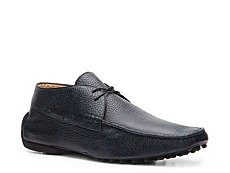 Santoni Pebbled Leather Oxford