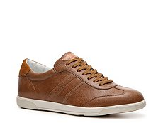 Santoni Textured Leather Sneaker