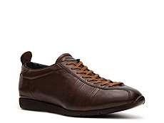 Santoni Textured Leather Sport Sneaker
