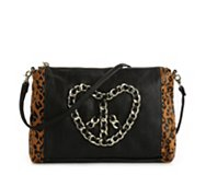 Betsey Johnson Peace Out Crossbody Bag