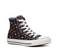 Converse Chuck Taylor All Star Hearts High-Top Sneaker - Womens