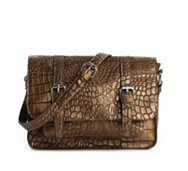 Kelly & Katie Mott Croco Crossbody Bag