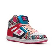 DC Rebound High-Top Skate Sneaker
