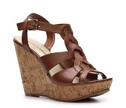 Audrey Brooke Cierra Wedge Sandal (DSW)