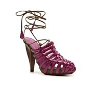 Bottega Venetta Patent Leather Cutout Sandal
