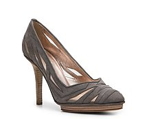 Calvin Klein Collection Rhea Suede Cutout Pump
