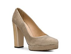 Calvin Klein Collection Dayana Fabric Platform Pump