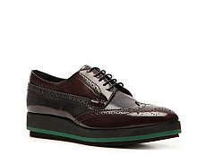 Prada Patent Leather Flatform Oxford