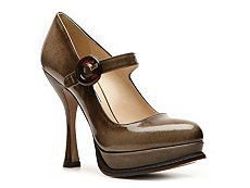 Prada Patent Leather Mary Jane Pump