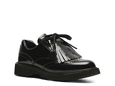 Prada Leather Kiltie Oxford