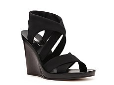 Calvin Klein Collection Fiala Fabric Crisscross Sandal