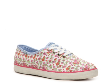 keds champion oxford floral