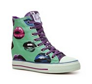 Daddy's Money Gimme Kisses Wedge Sneaker