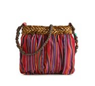 Poppie Jones Stripe Crossbody Bag