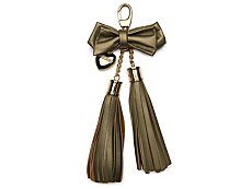 Just Cavalli Patent Leather Fringe Keychain Ornament