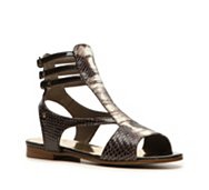 Just Cavalli Reptile Leather Gladiator Sandal