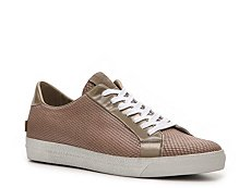 Just Cavalli Diamante Leather Sneaker