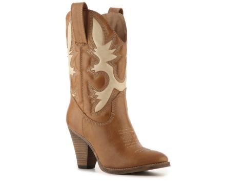 laurene western boot dsw