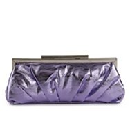 Lulu Townsend Fashion Metallic Clutch