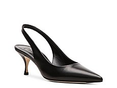 Bally Fiella Leather Slingback Pump