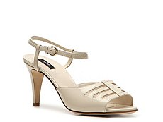 Bally Cannock Patent Leather Peep Toe Sandal
