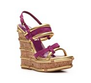 Two Lips Mischief Wedge Sandal